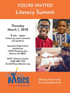 Literacy Summit